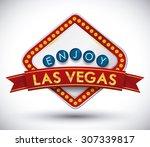 casino game design  vector...   Shutterstock .eps vector #307339817