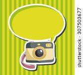 camera theme elements   Shutterstock .eps vector #307503677