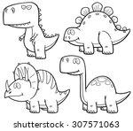Cartoon Dinosaur Vector Art Amp Graphics