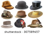 Collage With Different Hats...