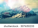 mountain peak | Shutterstock . vector #307650233