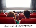 cinema  entertainment  leisure... | Shutterstock . vector #307717667
