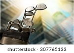 golf. | Shutterstock . vector #307765133