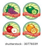 vector label | Shutterstock .eps vector #30778339