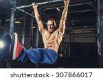 shirtless man with deard in...   Shutterstock . vector #307866017
