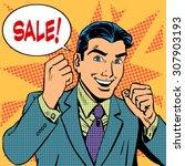 male businessman sale sales