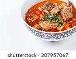 shorba soup national asian food ... | Shutterstock . vector #307957067