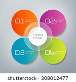 four steps infographics   can... | Shutterstock .eps vector #308012477