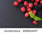 Raspberries And Blackberries...