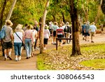 group of old and healthy people ... | Shutterstock . vector #308066543