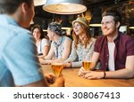 people  leisure  friendship and ... | Shutterstock . vector #308067413