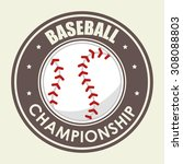 sports digital design  vector... | Shutterstock .eps vector #308088803