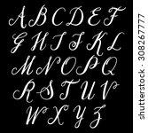 alphabet letters  uppercase....   Shutterstock .eps vector #308267777