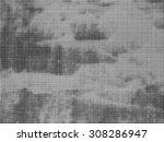 grunge halftone dots vector...   Shutterstock .eps vector #308286947