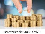 loan. | Shutterstock . vector #308352473