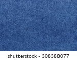 texture of blue jeans fabric as ... | Shutterstock . vector #308388077