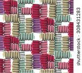 print pattern   Shutterstock .eps vector #308431283