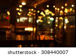 table in blur pub or bar...   Shutterstock . vector #308440007