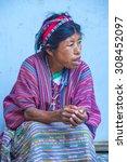 chichicastenango   guatemala  ... | Shutterstock . vector #308452097