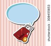 barrow  cartoon speech icon | Shutterstock . vector #308455853