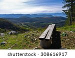 Viewpoint With A Bench At Moun...