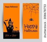 halloween   Shutterstock .eps vector #308678753