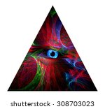 The All Seeing Eye Abstract...