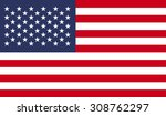 united states of america flag | Shutterstock . vector #308762297