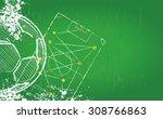 soccer or football design... | Shutterstock .eps vector #308766863