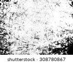 splatter paint texture .... | Shutterstock .eps vector #308780867