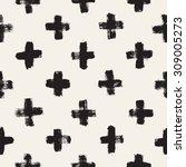 vector seamless pattern.... | Shutterstock .eps vector #309005273