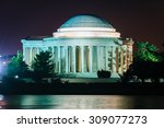The Thomas Jefferson Memorial...