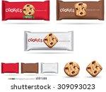 design packaging for chocolate... | Shutterstock .eps vector #309093023