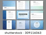 Set Of 9 Vector Templates For...