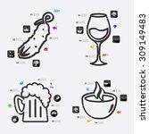 restaurant infographic | Shutterstock .eps vector #309149483
