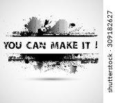 creative vector inspirational... | Shutterstock .eps vector #309182627
