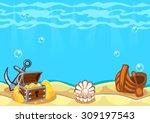 underwater vector world...