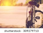 bicycle in vintage filter. | Shutterstock . vector #309279713