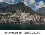 View Of Beautiful Amalfi