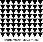 vector modern seamless pattern... | Shutterstock .eps vector #309374303