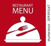 restaurant menu card   Shutterstock .eps vector #309393167
