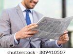 business  press  news and... | Shutterstock . vector #309410507
