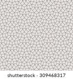 seamless linear pattern.... | Shutterstock .eps vector #309468317