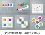 infographic design template can ... | Shutterstock .eps vector #309484577