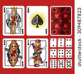 Spade Suit Playing Cards Full...