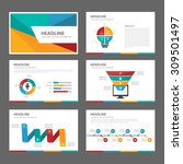 colorful multipurpose... | Shutterstock .eps vector #309501497