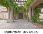 garden archway | Shutterstock . vector #309521327