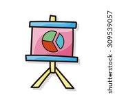 presentation doodle | Shutterstock .eps vector #309539057
