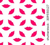 seamless pattern of large... | Shutterstock .eps vector #309550127