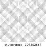 seamless geometric grid pattern ... | Shutterstock .eps vector #309562667